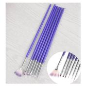 7Pcs/set Nail Art Brush Tools Set Crystal UV Gel Painting Dotting Brushes Pen Kits DIY Tools