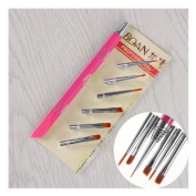 UV Gel Painting Brush with 6 Different Head Set Nail Art Drawing Brushes Pen Kits DIY Tools