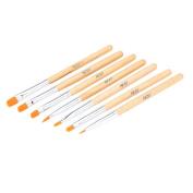Abody® 7pcs Nail Art Design Painting Tool Pen Polish Brush Set Kit DIY Professional