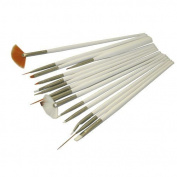 MELADY® Set of 15pcs DIY Nail Art Design Painting Polish Brushes Dotting Drawing Pen Manicure Pedicure Tool Set