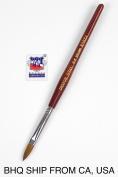 Kolinsky Acrylic Nail Brush Round Wood Handle #10