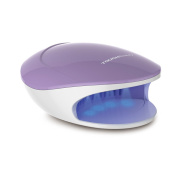 TOUCHBeauty 2in1 UV Light & Air Nail Dryer for Regular and Gel Nail Polish, 5 Curing Lamp, Powerful Fan Drying