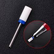 Biutee 1 x M size Nail Drill - Ceramic Foot Drill Bit Nail Art Salon Electric Drill Manicure File Nail Art Tools