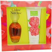 Narcisse By Chloe For Women. Set-edt Spray 100mls & Body Lotion 200mls