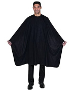 Betty Dain Premier Barber Cape, Black , X-Large