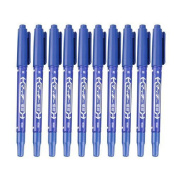 10 Pcs Tattoo Supply Surgical Piercing Skin Marker Pen Scribe Tool Dual-Tip Stencil