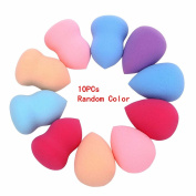 Sankuwen 4pcs Flawless Makeup Blender Foundation Puff Multi Shape Sponges