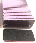 Professional Nails & Pedicure Foot Files (PINK Centre) Grit 60/60