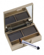 Beauty Clubs Eyebrow Powder Eye Brow Palette Cosmetic Makeup Shading Kit with Brush Mirror