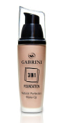 Gabrini SPF 15 Natural Perfection 3 in 1 Foundation for Women, 45 ML/1.52 Ounce
