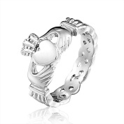 CoKate 1PC Ladies Claddagh Stainless Steel Skull Rings Women's Rings for Part...