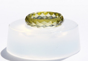 NEW! Clear silicone Faceted Ring Mould,size 9.