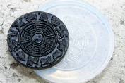 Lucky Chinese Zodiac 12 Animals Amulet Pendant Clear silicone mould. Size 50x50 mm.