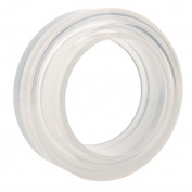 Clear Round Silicone Mould Moulds For Resin Curve Bangle Bracelet Jewellery Making DIY Craft - 60mm