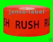 Jenco-Label PL1219R, 500 1.5x2 Rush Label/Sticker