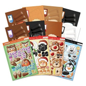 Hunkydory Box-Pops! - Christmas Cuties Card Collection - Makes 8 Cards