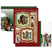 Hunkydory Festive Deco - Home For Christmas - Topper Set Card Kit