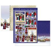Hunkydory Festive Deco - Christmas Villiage - Topper Set Card Kit