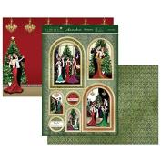 Hunkydory Festive Deco - Festive Party - Topper Set Card Kit