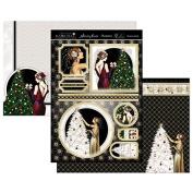Hunkydory Festive Deco - Christmas Sparkle - Topper Set Card Kit
