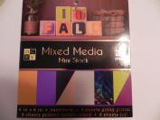 DCWV 15cm x 15cm Paper Pad - Mixed Media Mini Stack