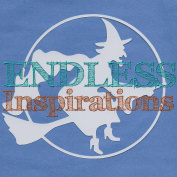 Endless Inspirations Original Stencil, 15cm x 15cm , Witch Silhouette