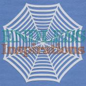 Endless Inspirations Original Stencil, 15cm x 15cm , Spiderweb 1