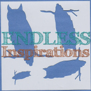 Endless Inspirations Original Stencil, 15cm x 15cm , Owl on Branch