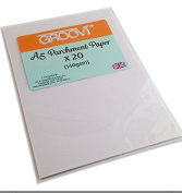 Groovi Parchment Paper A5 x 20 Sheets For Parchment Craft 150gsm