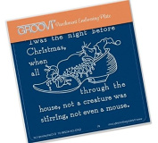 Groovi Twas the Night 01 Shoe - Laser Etched Acrylic for Parchment Craft