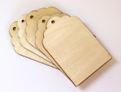 Cardinal Arts & Crafts Wooden Gift Tags, Set of 5