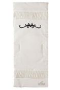 Peradi Shirring Carriage Liner, White
