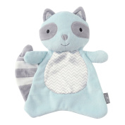 Hallmark Baby Good Night Kisses Scented Lovey, Cute Light Blue Raccoon