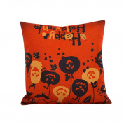 Halloween Pillowcases,Muxika 4620cm Fashion Top Quality Halloween Pillow Case Sofa Waist Throw Cushion Cover Home Décor