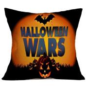 Tiean Halloween Pillow Case Sofa Waist Throw Cushion Cover Home Decor
