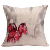 Siniao® Christmas Sofa Bed Home Decor Pillow Case Cushion Cover