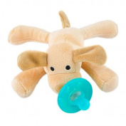 Vinmax Infant Baby Newborn Silicone Pacifiers w/ Cuddly Plush Animal Baby Nipples