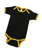 MONAG Short Sleeve Ringer Bodysuit
