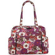 Vera Bradley Large Stroll Around Baby Bag - Rosewood