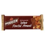 Van Houten Whole Almond Milk Chocolate 72g.