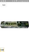 Neem Essential Toothpaste New 5 in 1 100% Fluoride Free