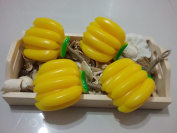 Fancy Fruit Spa Soap with Extracts of Banana - Handmade Fruit Spa Soap (Aromatherapy) with 100% Pure Essential