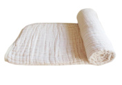 OUCHI Baby Bath Towels Muslin Cotton Receiving Blanket Infant Swaddle Blanket