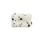 Newborn Baby Pillow with Pillowcase, Prevent Flat Head Syndrome (32cm x 22cm ) (Star Dream