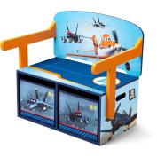 Planes 3-in-1 Storage Bench & Desk by Delta Children