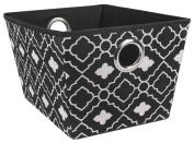 Ana Davis Lattice Printed Open Storage Bin Basket