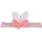 Alonea Baby Girl Head Accessories Hair band Baby Elastic Lace Rabbit ears Headwear
