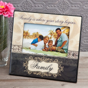 1 Family Is Where Your Story Begins Picture Frame