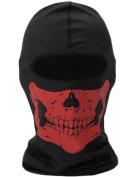 CS mask Balaclava Ski Hat Motorcycle Mask Neck Gaiter Hallowmas mask(red)-By BlueTECH
