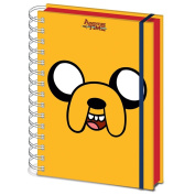 Official Adventure Time Jake Design A5 Hardback Notebook Journal Exercise Book